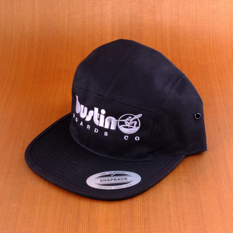 Bustin 5 Panel Hat - Black