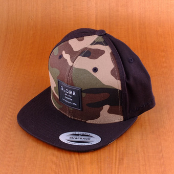 Globe Lyndon Cap Snap Back Hat - Camo