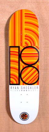 "Plan B Sheckler Geo 8.2"" Skateboard Deck"