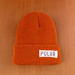 Poler Worker Man Beanie - Burnt Orange