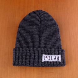 Poler Worker Man Beanie - Charcoal Heather