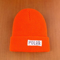 Poler Worker Man Beanie - Athletic Orange
