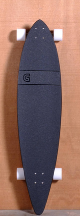"GoldCoast 44"" Classic Floater Longboard Complete - Black"