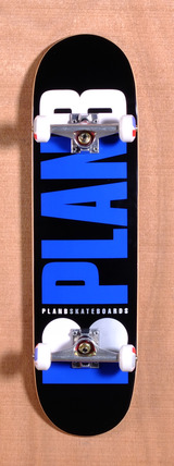 "Plan B Team OG 8.25"" Skateboard Complete - Black"
