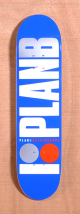 "Plan B Team OG 7.6"" Skateboard Deck - Blue"