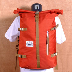 Poler Rolltop Backpack - Burnt Orange