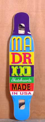 "Madrid 43.25"" Type Longboard Deck"