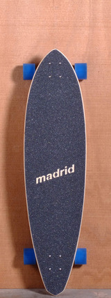 "Madrid 40"" Paperlogo Hickey Longboard Complete"