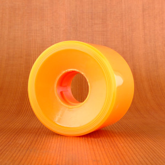 Cadillac White Walls 59mm 78a Wheels - Orange