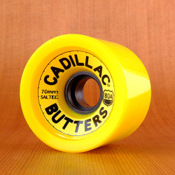 Cadillac Butters 70mm 80a Wheels - Yellow