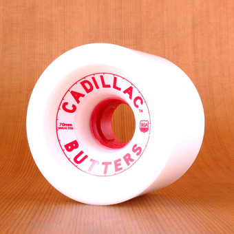 Cadillac Butters 70mm 80a Wheels - White