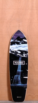 "Madrid 34"" Road Longboard Deck"