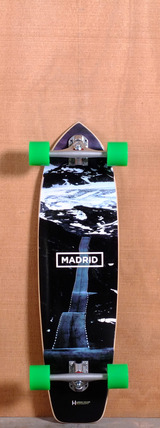 "Madrid 34"" Road Longboard Complete"