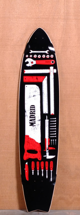 "Madrid 41.625"" Tools Longboard Deck"