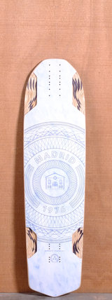 "Madrid 37.5"" Circles Longboard Deck"
