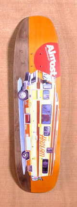 "Almost Haslam Lotti Trucks 8.25"" Skateboard Deck"