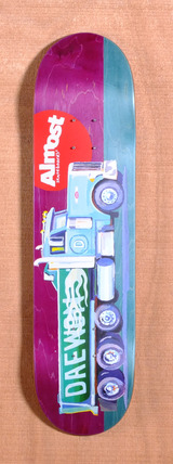 "Almost Daewon Lotti Trucks 8.0"" Skateboard Deck"