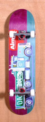 "Almost Daewon Lotti Trucks 8.0"" Skateboard Complete"