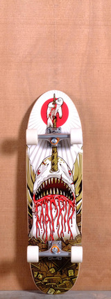 "Madrid 33"" Gnarwhal Longboard Complete"