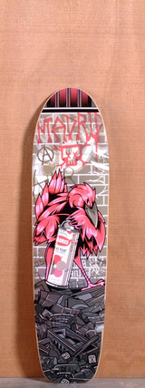 "Madrid 37"" Spraybird Longboard Deck"