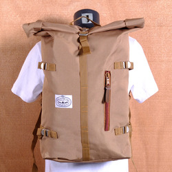 Poler Rolltop Backpack - Khaki