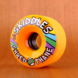 Sector 9 Skiddles 70mm 78a Wheels - Orange
