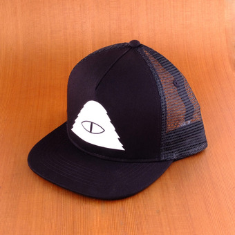 Poler Cyclops Mesh Trucker Hat - Black