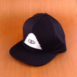 Poler Cyclops Snapback Hat - Black