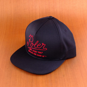 Poler Dreams Snapback - Black