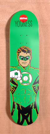 "Almost Amrani Green Lantern DC Comics 8.0"" Skateboard Deck"