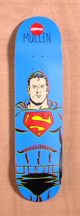 "Almost Mullen Superman DC Comics 8.1"" Skateboard Deck"