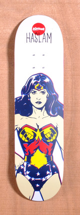 "Almost Haslam Wonder Women DC Comics 8.38"" Skateboard Deck"
