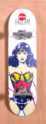 "Almost Haslam Wonder Women DC Comics 8.38"" Skateboard Complete"