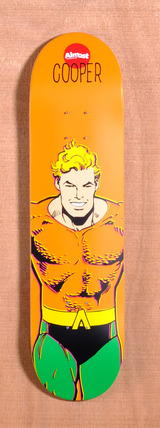 "Almost Wilt Aquaman DC Comics 8.0"" Skateboard Deck"