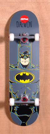 "Almost Daewon Batman DC Comics 8.25"" Skateboard Complete"