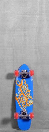 "Sector 9 25"" The Steady Glow Wheels Longboard Complete - Blue"