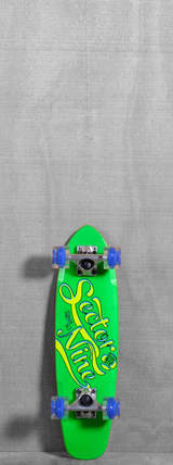 "Sector 9 25"" The Steady Glow Wheels Longboard Complete - Green"