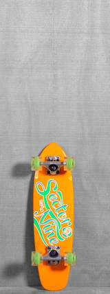 "Sector 9 25"" The Steady Glow Wheels Longboard Complete - Orange"