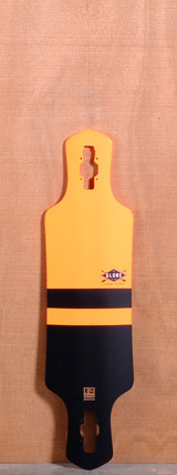 "Globe 35"" Geminon Longboard Deck - Orange"