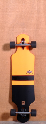 "Globe 35"" Geminon Longboard Complete - Orange"