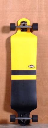 "Globe 41"" Geminon Drop Down Longboard Complete - Yellow/Black"