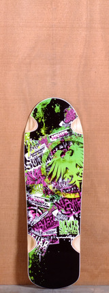 "Never Summer 32"" Assault Longboard Deck"