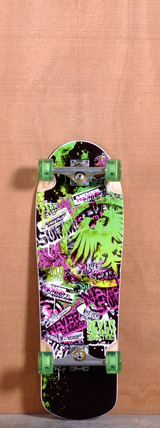 "Never Summer 32"" Assault Longboard Complete"