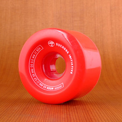 Arbor Mosh 65mm 82a Wheels - Red