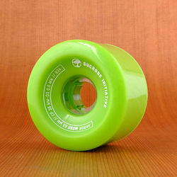 Arbor Mosh 65mm 82a Wheels - Green