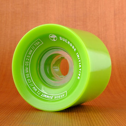 Arbor Summit 71mm 78a Wheels - Green