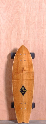 "Arbor 31.75"" GB Sizzler Longboard Complete - Shark"