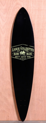 "Arbor 46"" Timeless Pin Longboard Deck - Reclaimed"