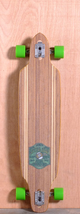 "Sector 9 41.125"" Lookout Longboard Complete - Bamboo"