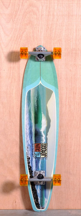 "Sector 9 38"" Green Machine Longboard Complete"